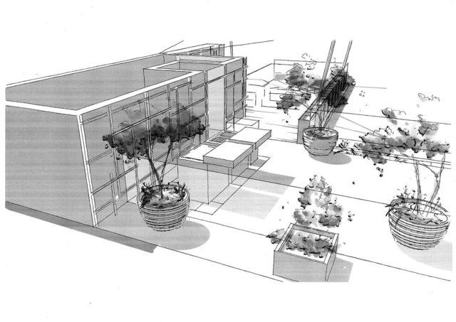 Terrasses en bois rénovation de votre mobil home croquis-renovation