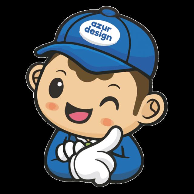 Azur Design Mascotte