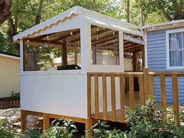 Fermeture Terrasse Mobil Home