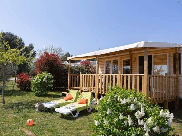 Balustrade Classique Terrasse Mobil Home