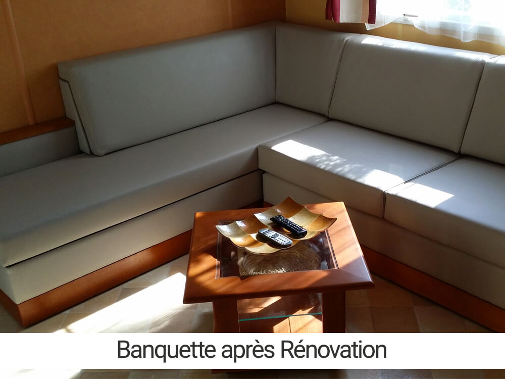 Renovation banquette