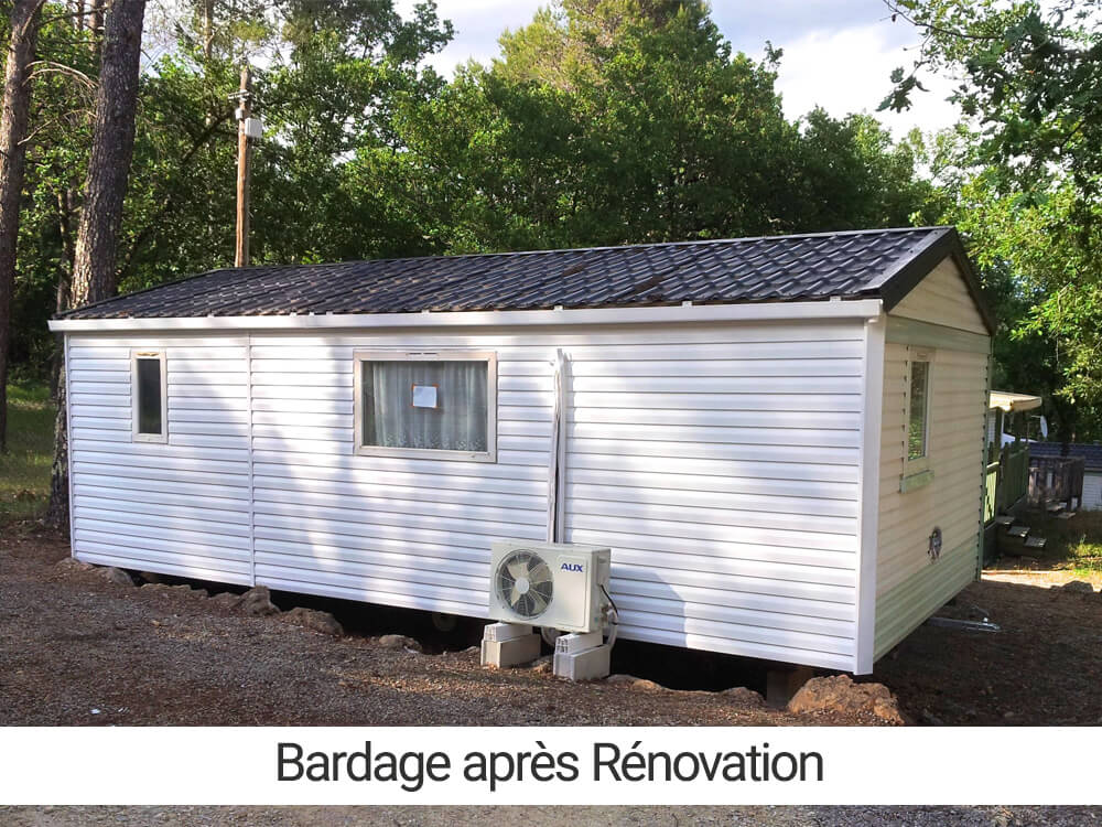 Renovation bardage