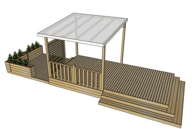 confectionnez votre terrasse de mobil home