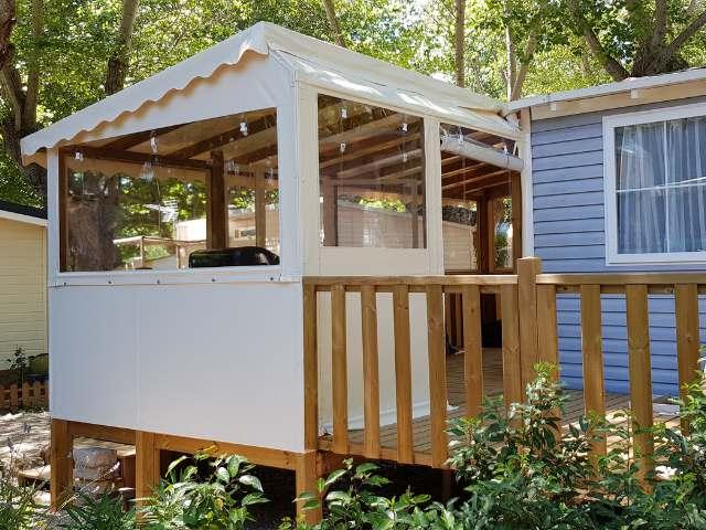 Entourage terrasse Mobil Home