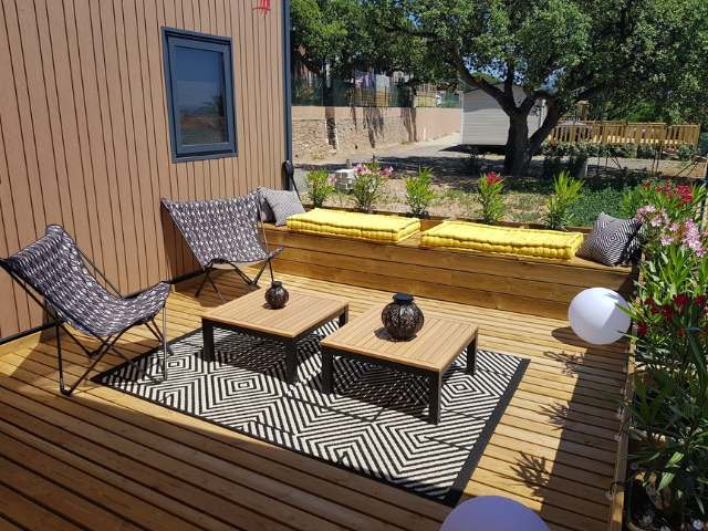 Options Terrasse Mobil Home